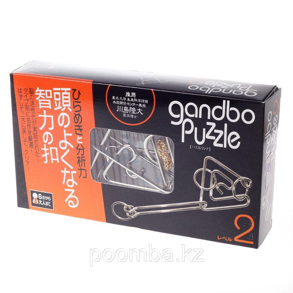 Gandbo puzzle 12, Металлическая головоломка