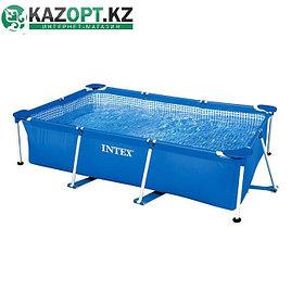 Бассейн каркасный Intex прямоугольный 260х160х65 см,