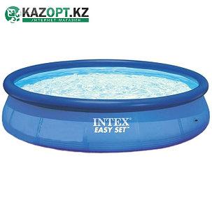 Бассейн надувной Intex круглый 366х76 см, от 6 лет, фото 2