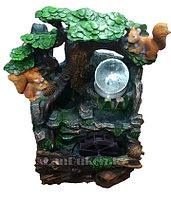 """Декоративный увлажнитель воздуха фонтан """"Белка с орешками"""""""