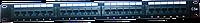 "Noname Патч-панель  коммутационная 24 порт/RJ45/кат.5е/неэкр./19""/1U черная. , фото 1"