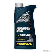 Моторное масло MANNOL Molibden Diesel 10W40 CG-4/SJ 1L