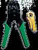 Инструмент HT315 для обжима коннекторов RJ45/RJ12/RJ11+ стриппер для удаления изоляции с сетевого кабеля и раз
