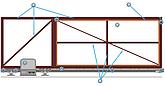 Автоматика для откатных (сдвижных) ворот