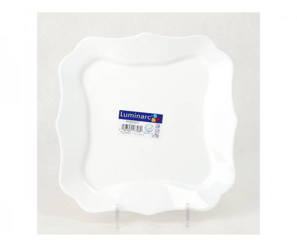 Тарелка обеденная Luminarc Authentic White 26 см (J1300/D8728)