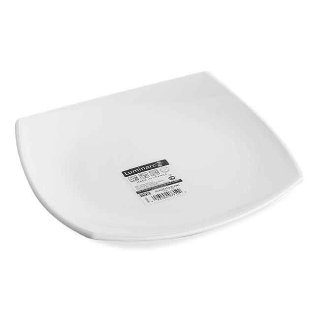 Тарелка десертная Luminarc Quadrato White 19 см (H3658/D7215)