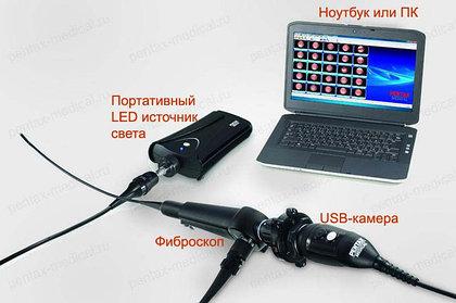 Видеоэндоскоп из фиброскопа Pentax