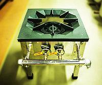 Газовая промышленная плита (1 конфорка, 2 круга пламени)