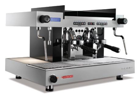 Классические автоматические и полуавтоматические кофемашины нового поколения SANREMO ROMA