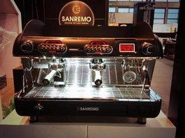 Классические автоматические и полуавтоматические кофемашины нового поколения SANREMO VERONRA RS
