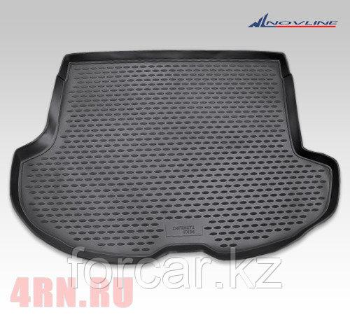 Коврик в багажник INFINITI FX35 2003-2009, кросс. (Чёрный)