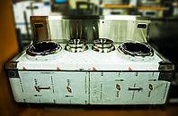 Индукционная WOK плита, 200х100х127см