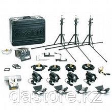 Dedolight K12B базовый комплект света, 4 прибора по 100 ватт/12 вольт