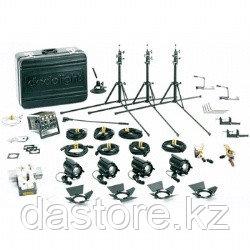 Dedolight K12S базовый комплект света, 4 прибора по 100 ватт/12 вольт