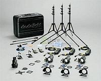 Dedolight KA24BE базовый выездной комплект света на 3 прибора DLH4 (24/150)