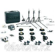 Dedolight KA24S стандартный выездной комплект света на 3 прибора DLH4 (24/150) и один общий димер