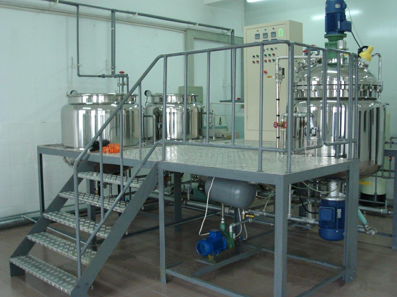 Оборудование для розлива бытовой химии
