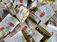 Шоколад с логотипом для презентации, маленький, фото 1
