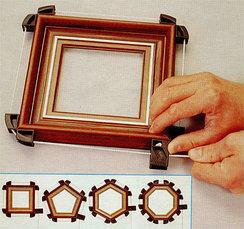 Зажимы для рамных конструкций (ленточные, угловые и торцовые)