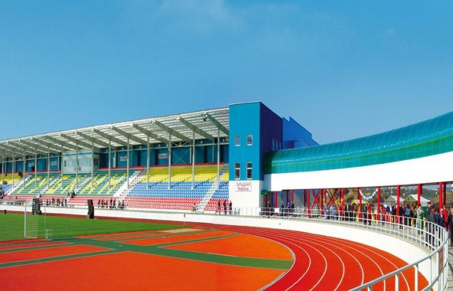 Проектирование легкоатлетических и футбольных стадионов