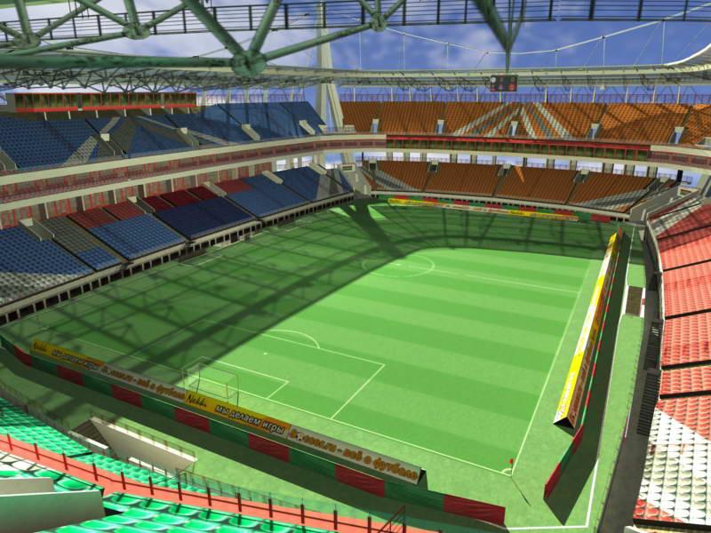 Проектирование легкоатлетических и футбольных стадионов - фото 2