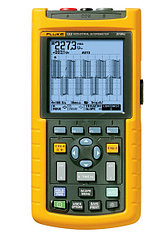 FLUKE 123 - осциллограф-мультиметр (скопметр) цифровой запоминающий