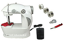 Мини швейная машинка 4 в 1 с блоком питания (Mini Sewing Mashine)