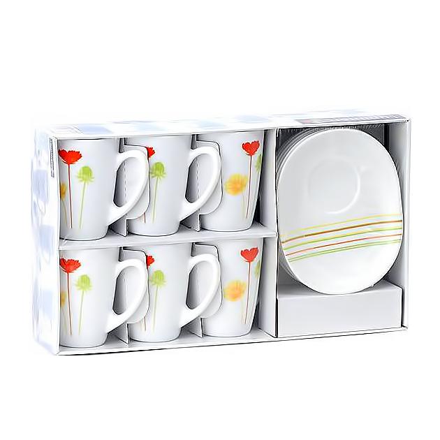 Чайный сервиз Luminarc Энканта Encanta, 220 мл (D9042)