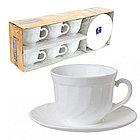 Чайный сервиз Luminarc Trianon на 6 персон 12 единиц (E8845), фото 2