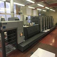 Ryobi 755P + XL б/у 2006г - 5-ти красочная печатная машина