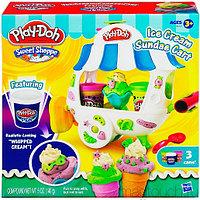PLAY-DOH. Пластилин: Магазинчик мороженого , фото 1