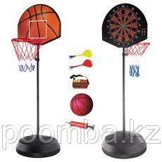 Игровой набор Дартс с баскетбольным кольцом