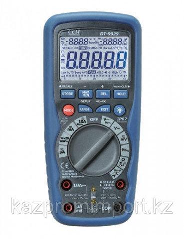 DT-9939 Профессиональный цифровой мультиметр в двойном пластиковом водонепроницаемом корпусе, степень защиты I