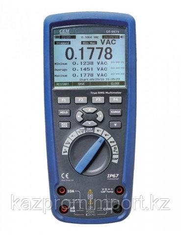 DT-9979 Профессиональный цифровой мультиметр в двойном пластиковом водонепроницаемом корпусе, с True RMS