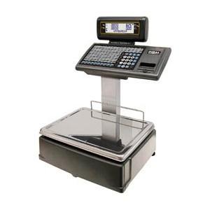 Торговые весы с дисплеем и клавиатурой на стойке DIBAL M525D