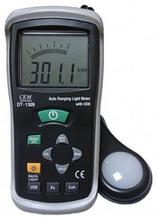 DT-1309 Измеритель уровня освещения, Люксметр