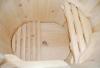 Кедровая бочка овальная «Профессиональная» со скосом, фото 2