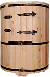 Кедровая Бочка профессиональная овальная, фото 3