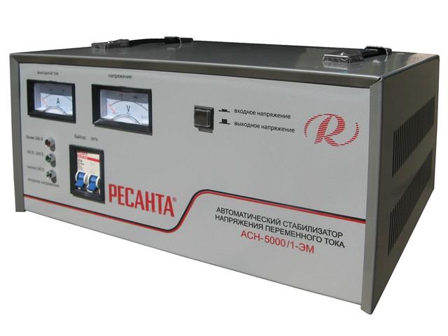Стабилизатор SVC-5000/1-эм 5кВт