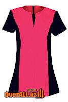 Черно-розовая форменная блузка, фото 1