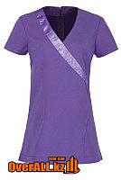 Сиреневая форменная блузка, топ, фото 1