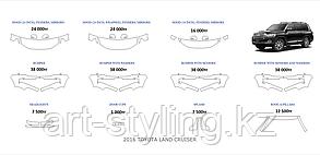 Toyota Land Cruiser 2015-2016 г.в готовые лекала