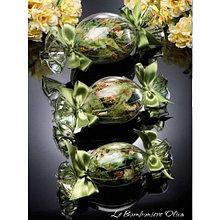 Саше-попурри Конфетка с лепестками цветов. Италия. Ручная работа