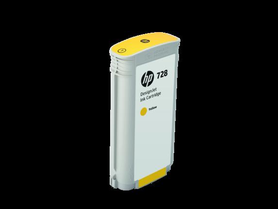 НР F9J65A Картридж желтый HP 728 130-ml Yellow Ink Crtg, for DesignJet T730, T830 MFP