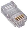 Коннектор телекоммуникационный, SHIP S901A, RJ 45 Cat.5e, UTP