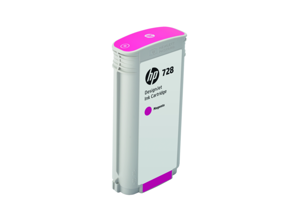 HP F9J66A Картридж пурпурный HP 728 130-ml Magenta Ink Crtg, for DesignJet T730, T830 MFP