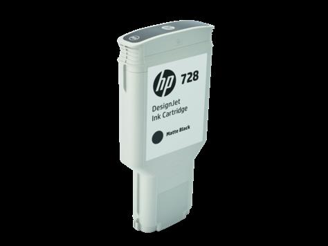 HP F9J68A Картридж черный матовый HP 728 300-ml Matte Black Ink Crtg, for DesignJet T730, T830