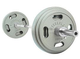Штанга олимп с металл блинами 310Lb OSB310 Steelflex