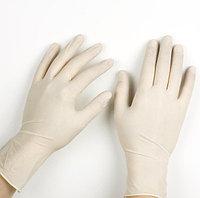 Перчатки опудренные латексные