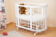 Кроватка-трансформер Паулина С 422(белый,сл.кость,шоколад,ваниль)